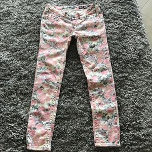 Miss Me Cargo Floral Jeans